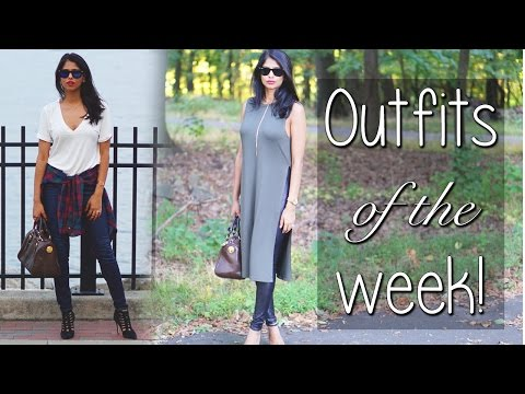 OOTW | Casual then Dressy | Fall Outfits - YouTube