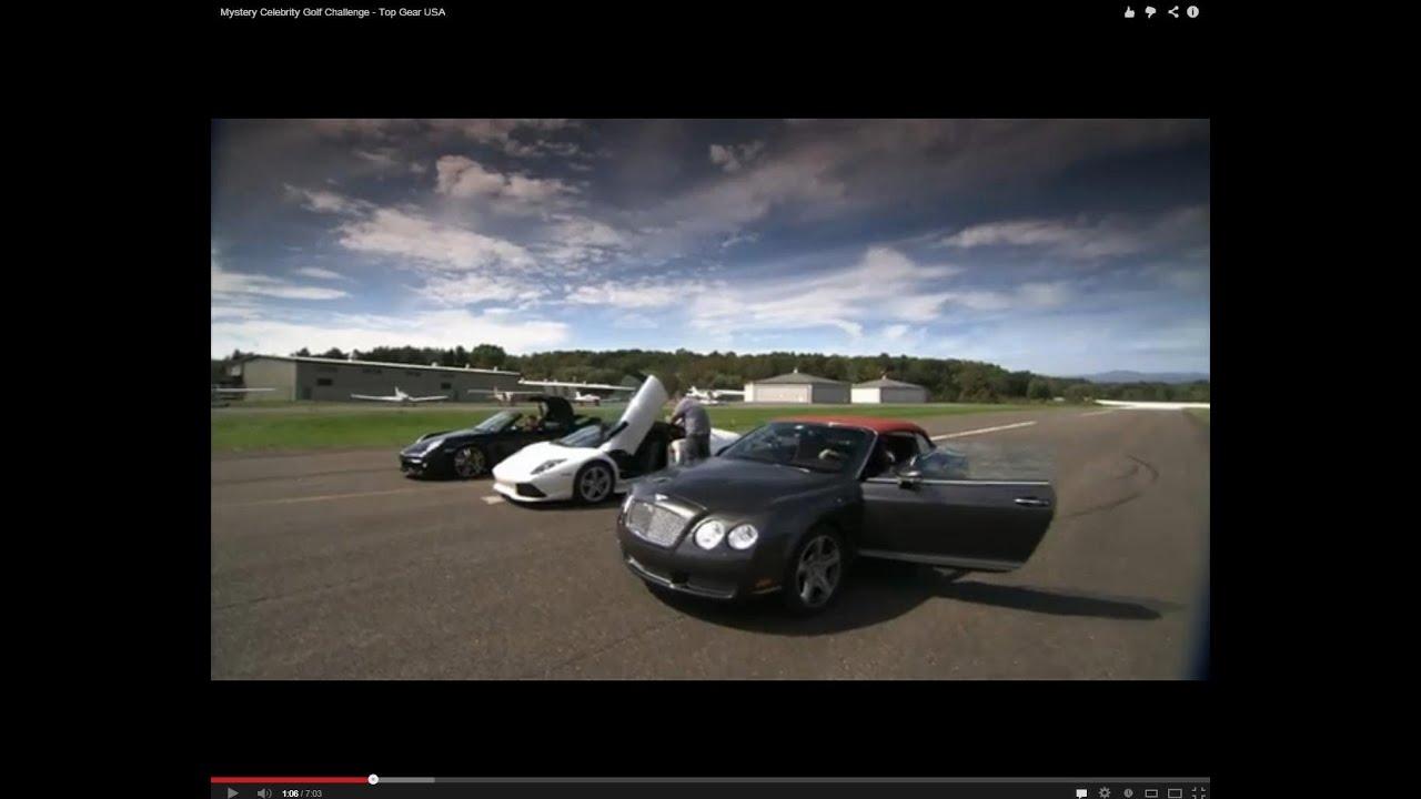 Supercars Vs Golf Balls Top Gear Usa Series 2 Youtube
