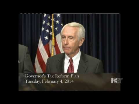Gov. Steve Beshear Unveils his Tax Reform Plan