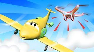 Đội tuần tra giải cứu Penny khỏi máy bay điều khiển từ xa nguy hiểm - phim hoạt hình về 🚗