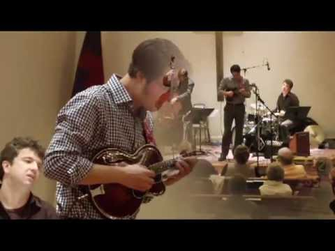 "Beatles tune ""Something"" arranged for mandolin and piano by Jason Anick Quartet at the North Madison Congregational Church in Madison, CT - Nov. 10th, 2012 -..."