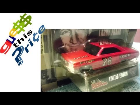 NASCAR LEGENDS Larry Frank 1964 Ford Fastback - GUESS THIS PRICE - EBAY AUCTION GAME