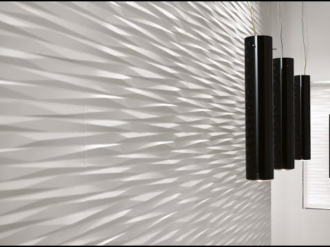 3D/WALL DESIGN | Three-dimensional ceramic walls