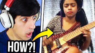 They Said She's the WORLD'S FASTEST BASS PLAYER...