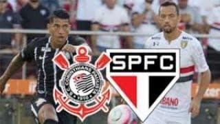 Futebol ao vivo na TV 17/02/2019 - Corinthians x São Paulo