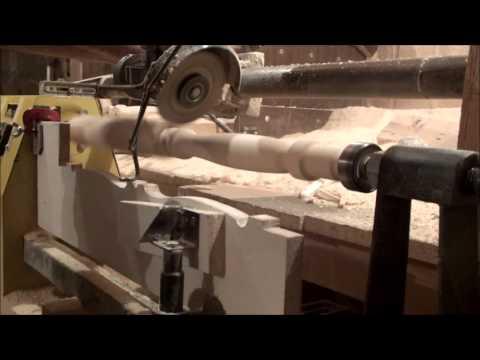 Обработка балясин на токарном станке своими руками - Pumps.ru