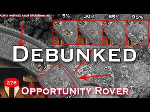 """Celtic Cross"" Ancient Aliens On Mars: Cross Slabs Caught By Opportunity NASA - DEBUNKED"
