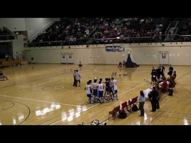 UNICON XV Unicycle Basketball Final pt2