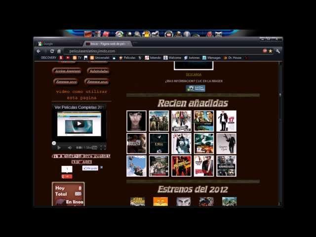 Como ver películas completas en español por internet