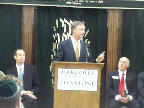 Governor Bill Haslam At Margolin Hebrew Academy Part 2 - 05/25/2012