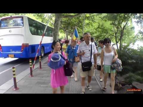 Hangzhou Six Harmonies Pagoda - Trip to China part 41 - Full HD travel video