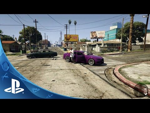 Grand Theft Auto V: First Person Experience | PS4