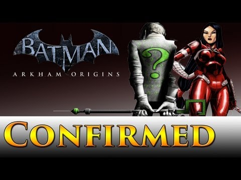 Batman: Arkham Origins | Lady Shiva & Riddler Confirmed! + All Achievements & Riddler Trophy