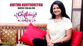 Anitha Karthikeyan invites you all for