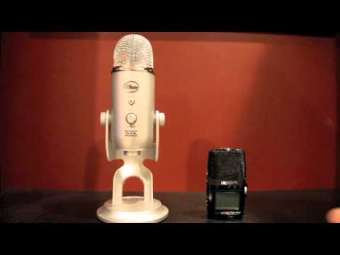 Blue Yeti vs. Zoom H2n