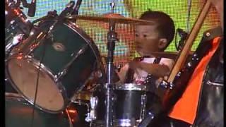 Performance Elonoe Budiman   Drummer Cilik 3 tahun di Semifinal I Indonesia's Got Talent