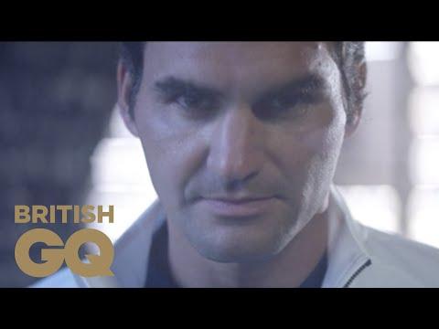 Roger Federer talks Wimbledon, style, and heritage at NikeLab | British GQ