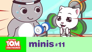 Talking Tom and Friends Minis - Workout Time (Episode 11)