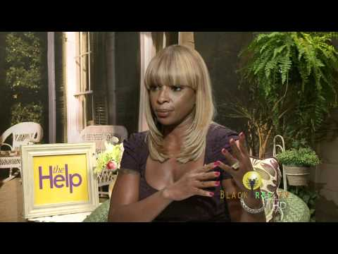 Mary J. Blige discusses 'The Help' and her acting career