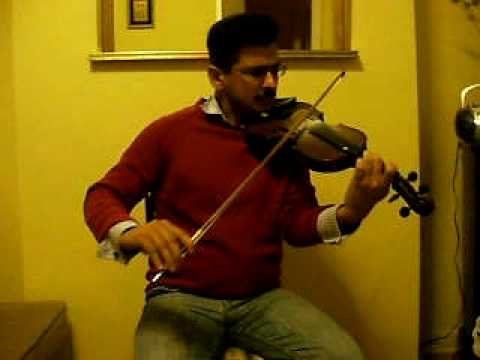 Sohni Dharti  on violin