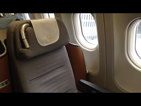 Flying Experience: Lufthansa New Business Class A340 FRA-ATL