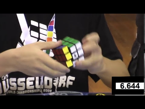 Feliks Zemdegs 7.03 and 6.77 slow motion