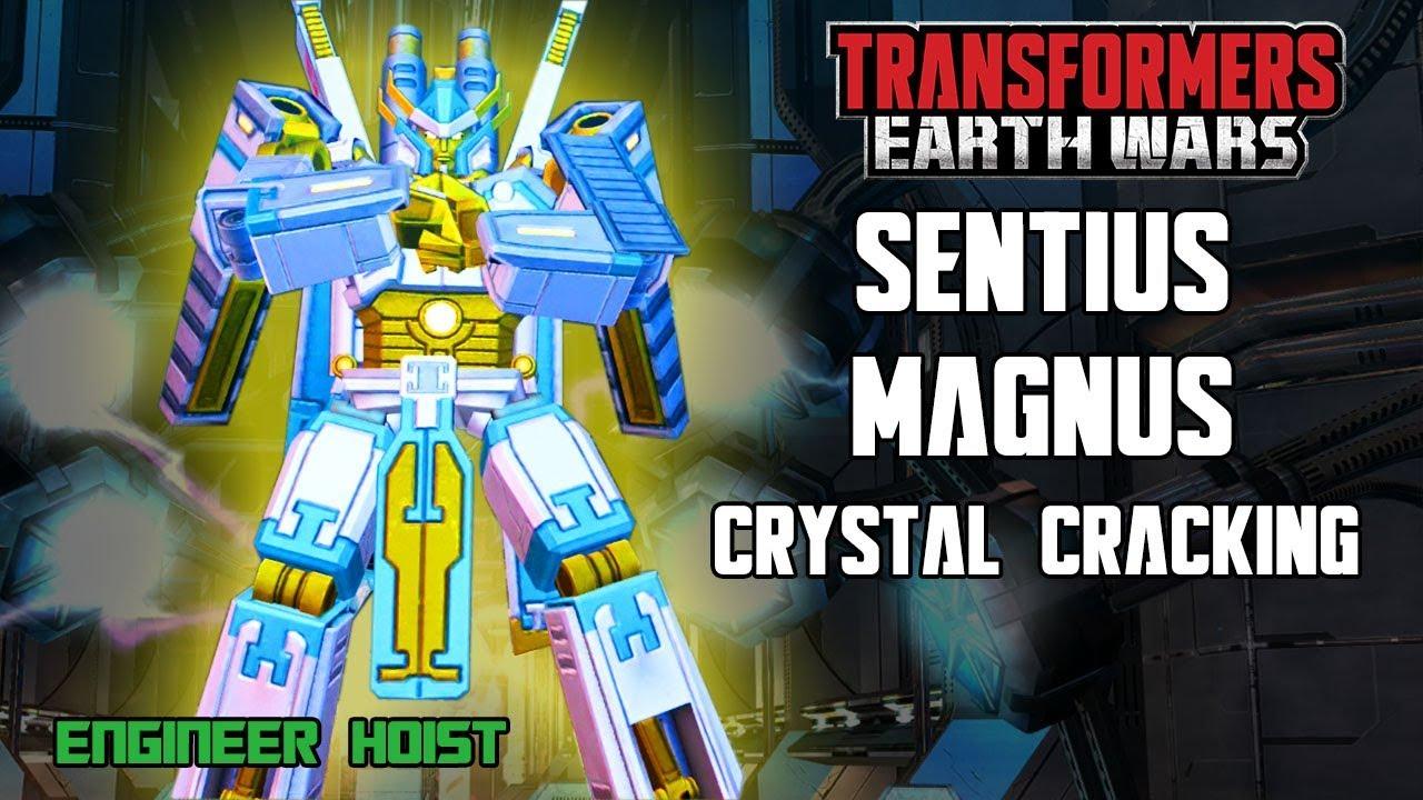 Transformers: Earth Wars - Sentius Magnus Crystal Cracking