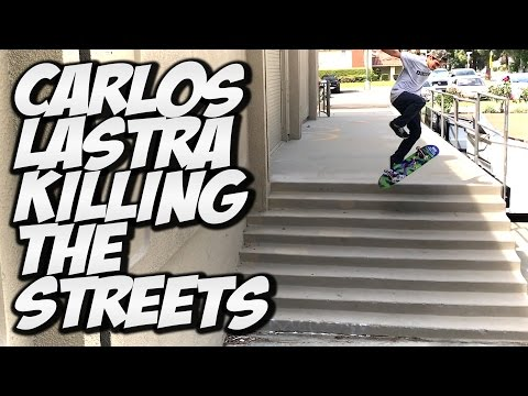 CARLOS LASTRA SKATES LIKE A MAD MAN !!! - A DAY WITH NKA -