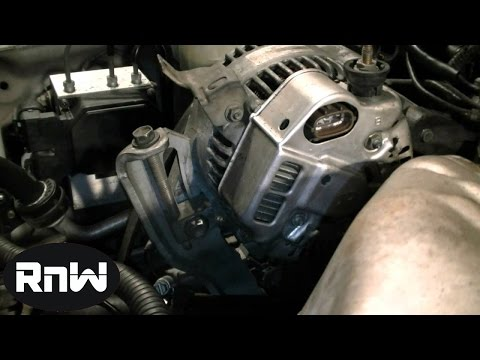How to Replace an Alternator on a 1999 Toyota Camry 2.2L Engine