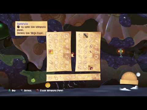 Worms Battlegrounds Walkthrough Mission 1