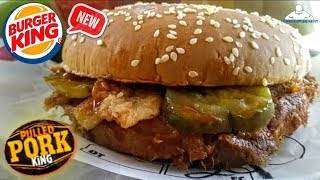 Burger King® Pulled Pork King Review! 🍔 👑 🐖