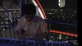 小松正史・京都タワーピアノライブ CANDLE