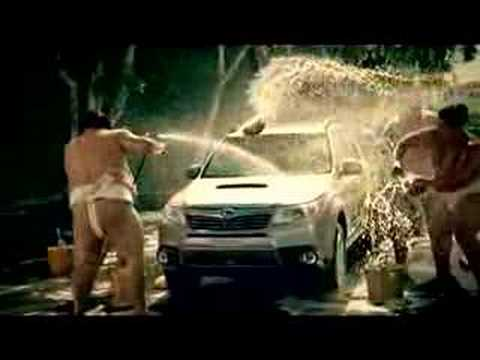 Sexy Subaru Forester Sumo Carwash Video