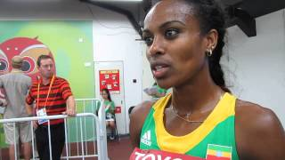 Beijing 2015: 1500m finalist Genzebe Dibaba on semi finals