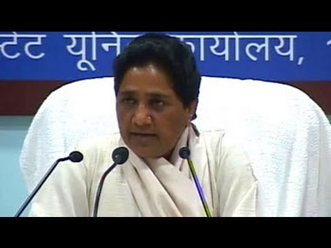 Mayawati blames Congress, BJP for defeat, says 70% Muslims voted for Mulayam