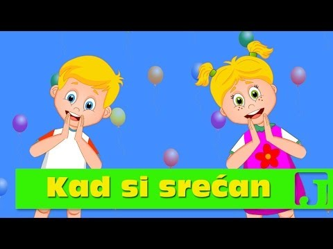 Kad Si Srećan | Dečije Pesme | If You Are Happy | Jaccoled video