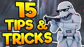 Star Wars Battlefront 2: 15 TIPS AND TRICKS YOU NEED TO KNOW!!