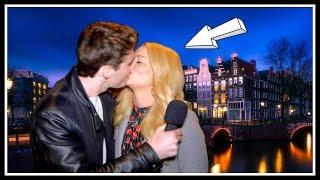 KISS STRANGERS IN AMSTERDAM