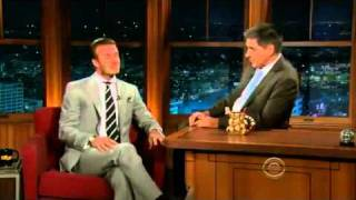 "David Beckham - On ""The Craig Ferguson Show""  06-01-2011"