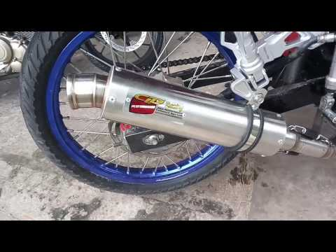 Review knalpot CLD PERFORMANCE Satria Fu 155