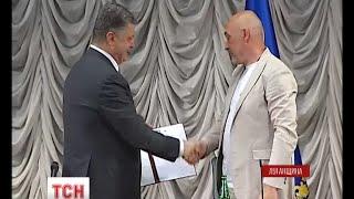 Президент прилетів на Луганщину та представив нового очільника області - (видео)