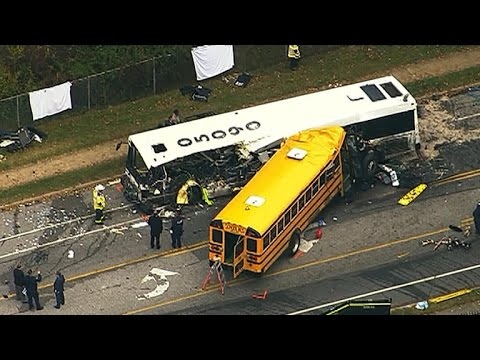 Six killed in Baltimore bus crash