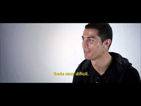 EXCLUSIVE VIDEO: Cristiano Ronaldo talks Messi