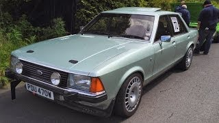 Cultra Hill Climb 2013 - Ford Granada V8 Turbo