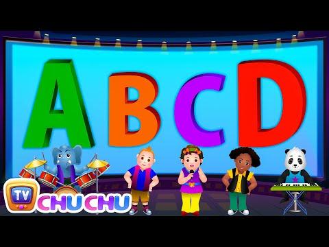ABCD Alphabet Song - Nursery Rhymes Karaoke Songs For Children | ChuChu TV Rock