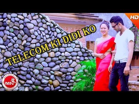 New Nepali Lok Dohori Song 2015 Telecom ki didi ko by Purnakala BC and Basanta Thapa HD