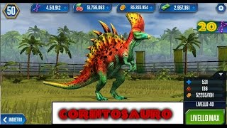Jurassic World   LEVEL 40  CORINTOSAURO