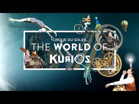 Unravel a World of Curiosities... | The World of KURIOS | Cirque du Soleil