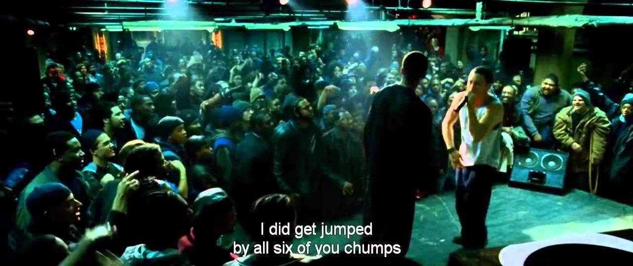Eminem - Papa Doc vs Eminem - 8 Mile, Rap battle lyrics