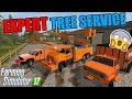 STARTING A NEW TREE SERVICE COMPANY | ASPLUNDH | FARMING SIMULATOR 2017 #1
